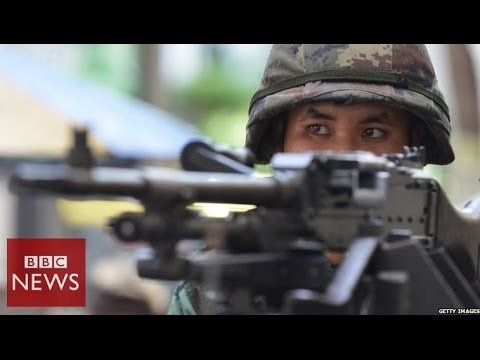 Thailand military coup - in 60 seconds - BBC News