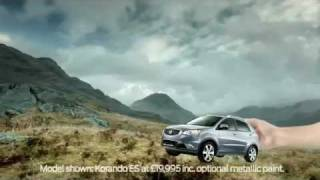 SsangYong Korando 2012 TV Advert