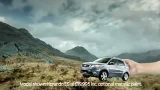 SsangYong Korando 2012 TV Advert