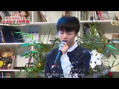 [Vietsub Live] TFBOYS Vương Tuấn Khải (Wang JunKai - 王俊凯) – Cung dưỡng ái tình (爱的供养)