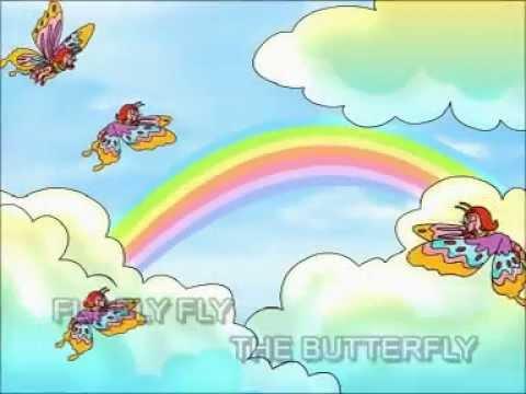 Lagu Kanak-Kanak - Fly Fly Fly Butterfly