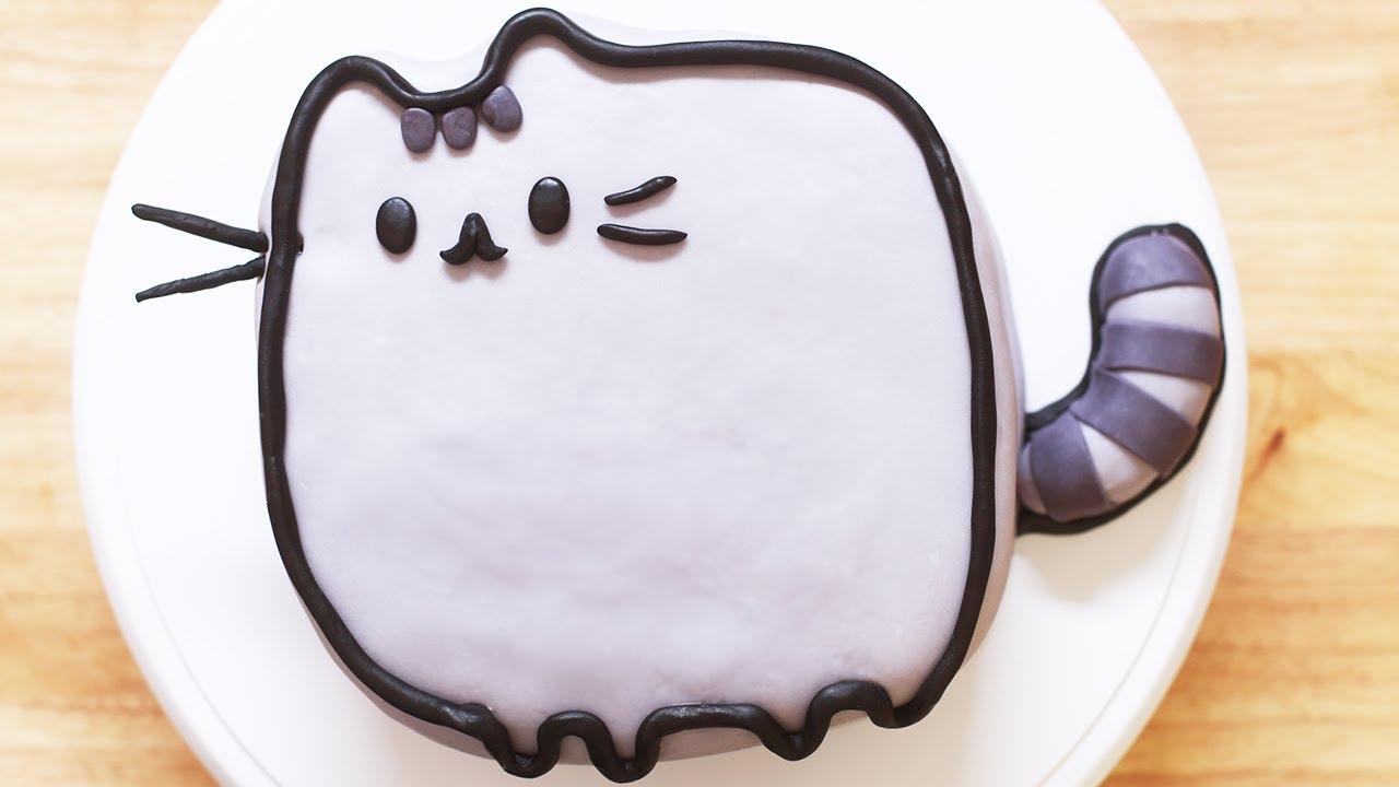 Pusheen Cat Birthday Cake Image Inspiration Of Cake And Birthday