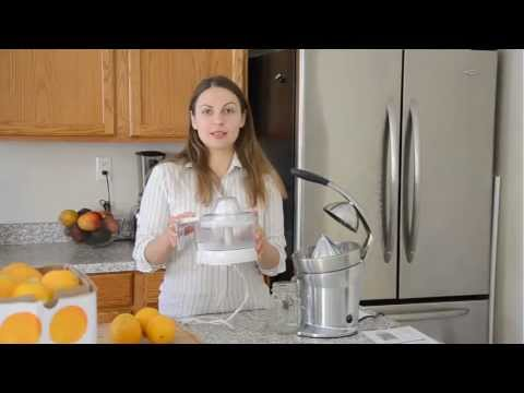 Hello Breville 800CPXL Stainless Steel Citrus Juicer... Goodbye Plastic!
