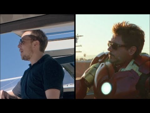 Iron Man, Elon Musk, SpaceX, Tesla & The Hyperloop
