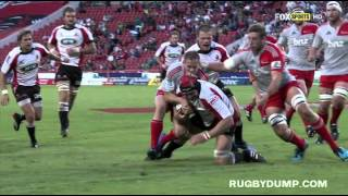 Lions vs Crusaders Rd.8 2014 | Super Rugby Video Highlights