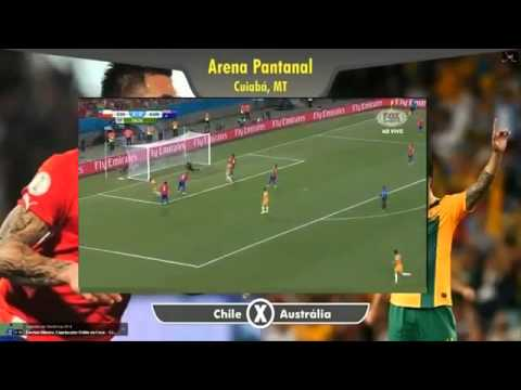 Chile vs Australia 3 1 ~ All goals and Full Highlights ~ FIFA World Cup 13/06/2014