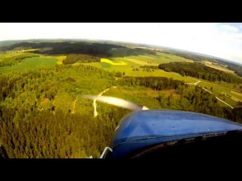 Landing at Albstadt Degerfeld (EDSA)