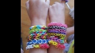 RAINBOW LOOM BRACELET BY HAND How To Easy