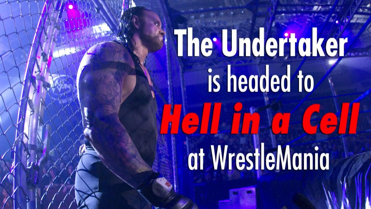 Undertaker Gets A Hell In A Cell Birthday Cake Photo New Wwe