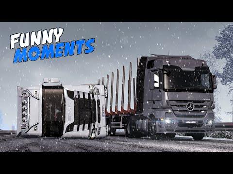 EP.#26 - Funny & Random Moments - Euro Truck Simulator 2