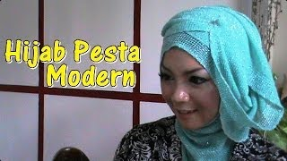 Tutorial Hijab Pesta Pernikahan Modern Dan Simple By Revi