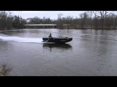 Jet Jon Boat for Bowfishing