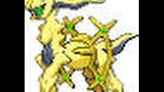 How To Catch/Get Shiny Arceus In Pokemon Black And White