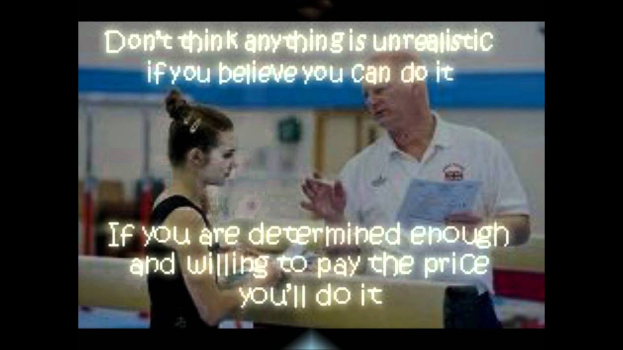 inspirational gymnastics quotes youtube