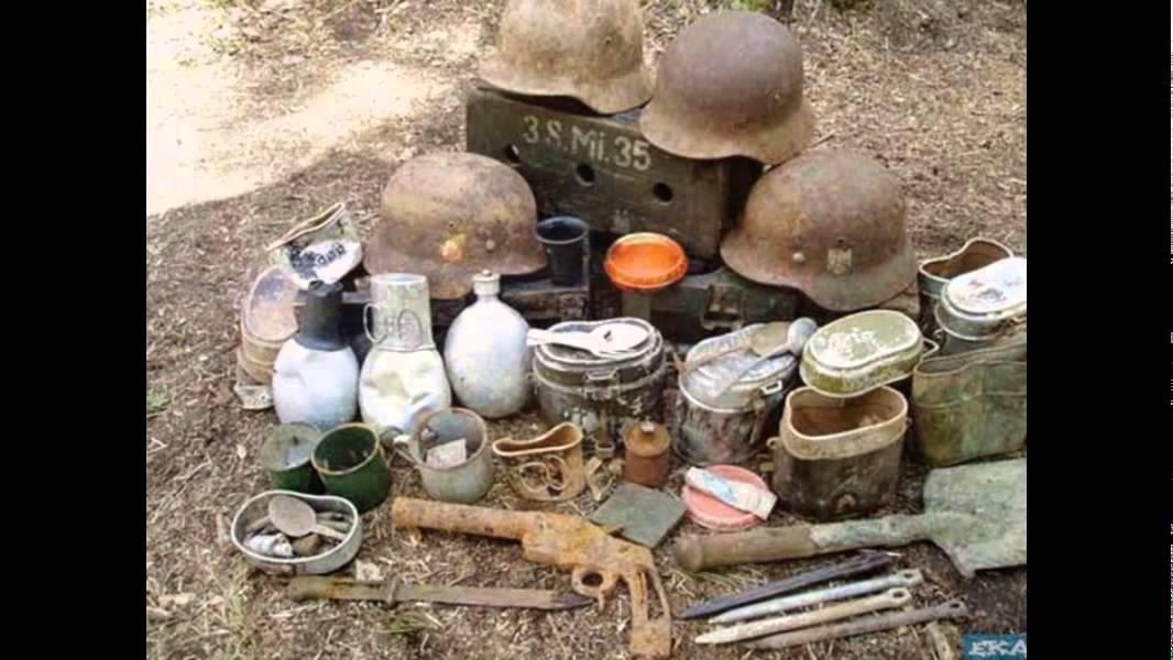 Раскопки второй мировой войны. (Часть 1).