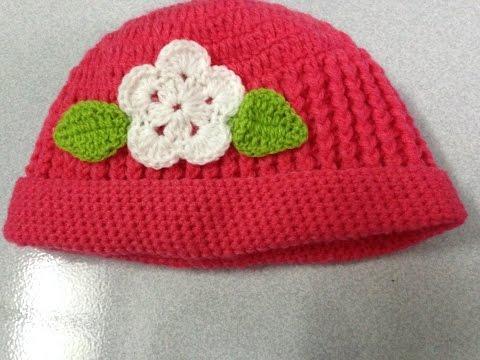 [ Crochet Hats] HƯỚNG DẪN MÓC MŨ LEN CHO BÉ [ KIỂU 1]