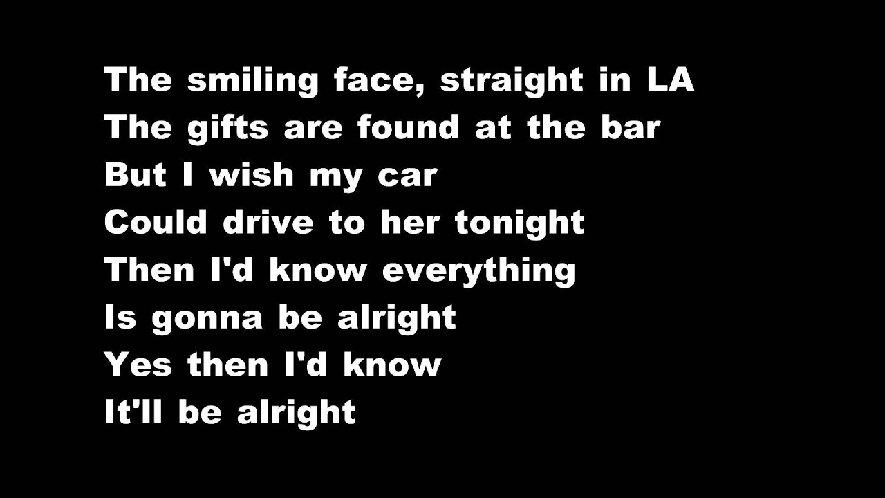 Lucinda Williams - Are You Alright Lyrics | MetroLyrics
