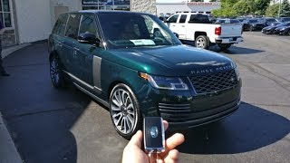 Taking Delivery Of A 2018 Range Rover Autobiography!!