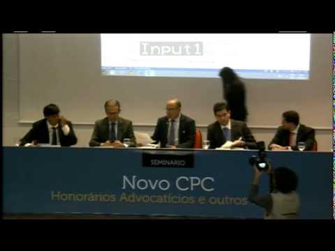 Semin�rio Novo CPC - Honor�rios Advocat�cios e outros temas.
