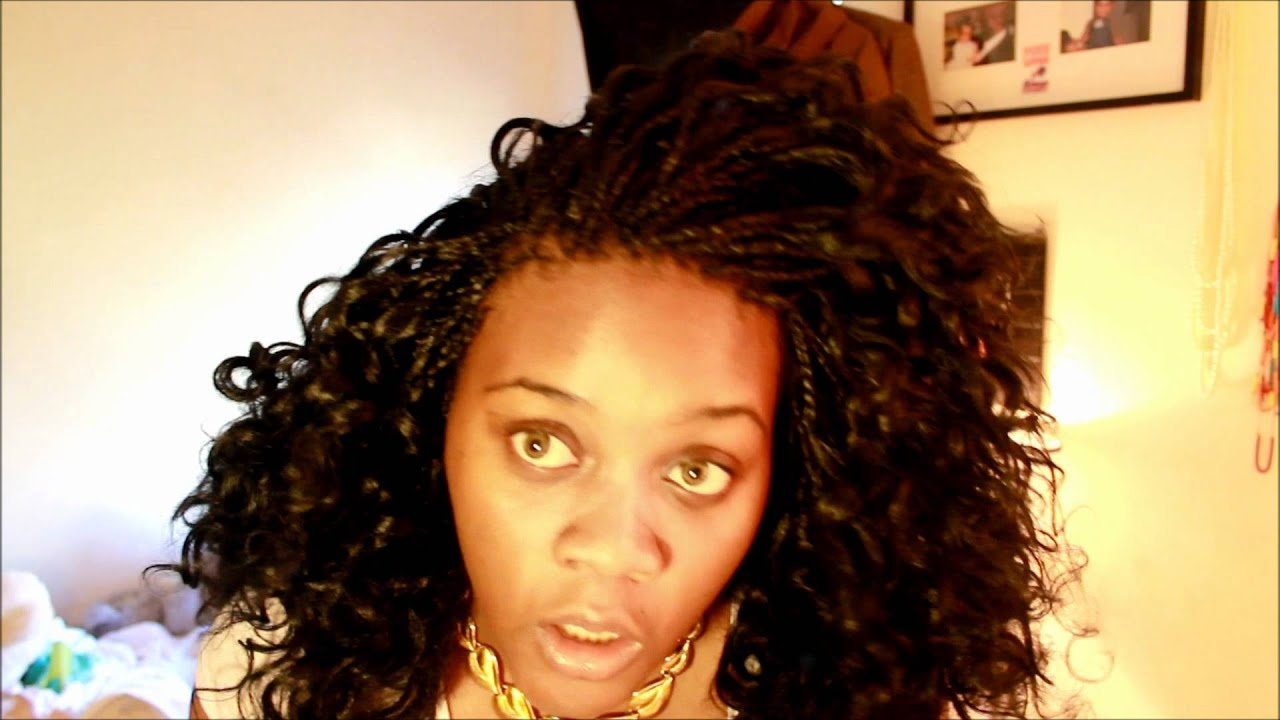 Displaying 20> Images For - Micro Braids In Front Sew In Back...