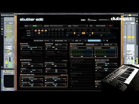 BT @ Dubspot - iZotope 'Stutter Edit' Demo + Workshop Recap