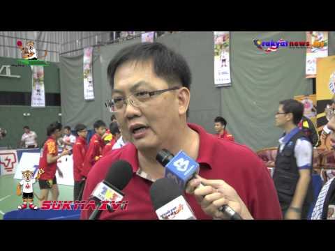 SUKMA XVI : Selangor Bolot 2 Emas Dalam Acara Ping Pong Berpasukan