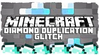 Minecraft: DIAMOND DUPLICATION GLITCH! (MC Tutorial!)