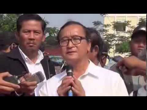 Sam Rainsy's Speech in the 10th Years Anniversary of Chea Vichea