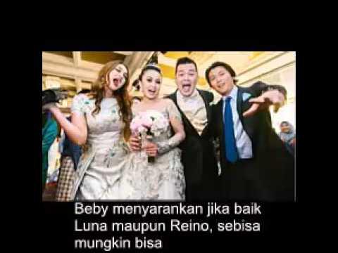 Luna maya dan Reino mantap menikah tapi ada pihak ketiga yang meragukan