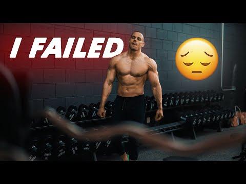 I failed opening my gym...