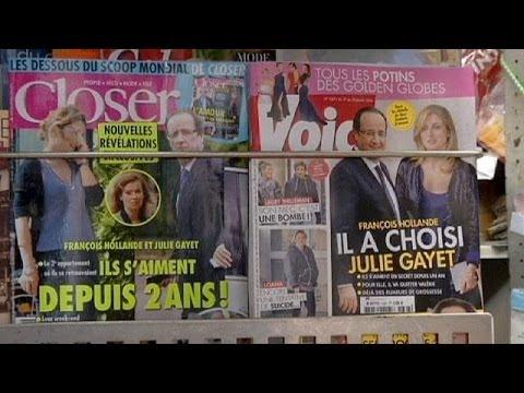 Олланд и Гайе: самый громкий французский роман