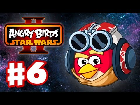 Angry Birds Star Wars 2 - Gameplay Walkthrough Part 6 - Podracing! 3 Stars! (iOS/Android), Angry Birds Star Wars 2 - Gameplay Walkthrough Part 6 - Podracing! 3 Stars! (iOS/Android)
