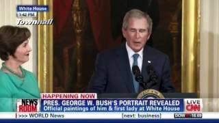 W Cries & Laura Bush Adds