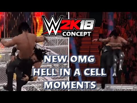 WWE 2K18 NEW HELL IN A CELL OMG MOMENTS (CONCEPT)