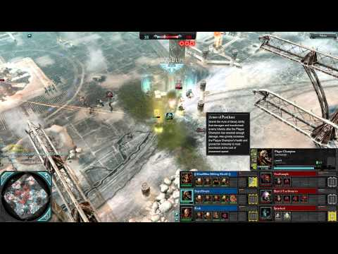 Dawn of War 2 - 3v3 | S0dding BLeeD + SuperHooper + Kvek [vs] TrueExample + Shas'El + Spearhead