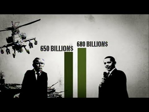 Standing Army documentary trailer: US Military budgets