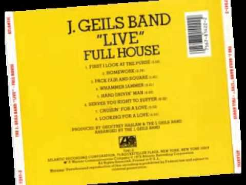 J Geils - Full House - (Album 1972)