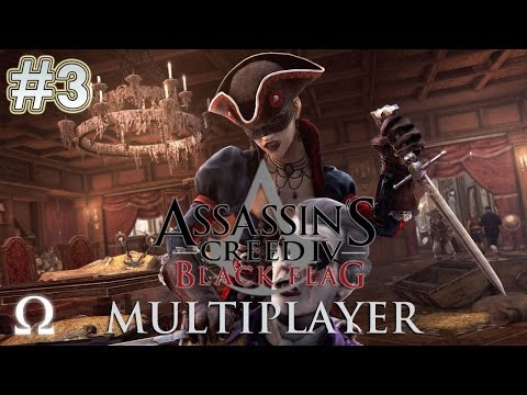 Assassin's Creed 4 Multiplayer #3 - U RUN WHEN WHISPER - Ft. Pewdiepie, Minx, Markiplier, Cry - PC