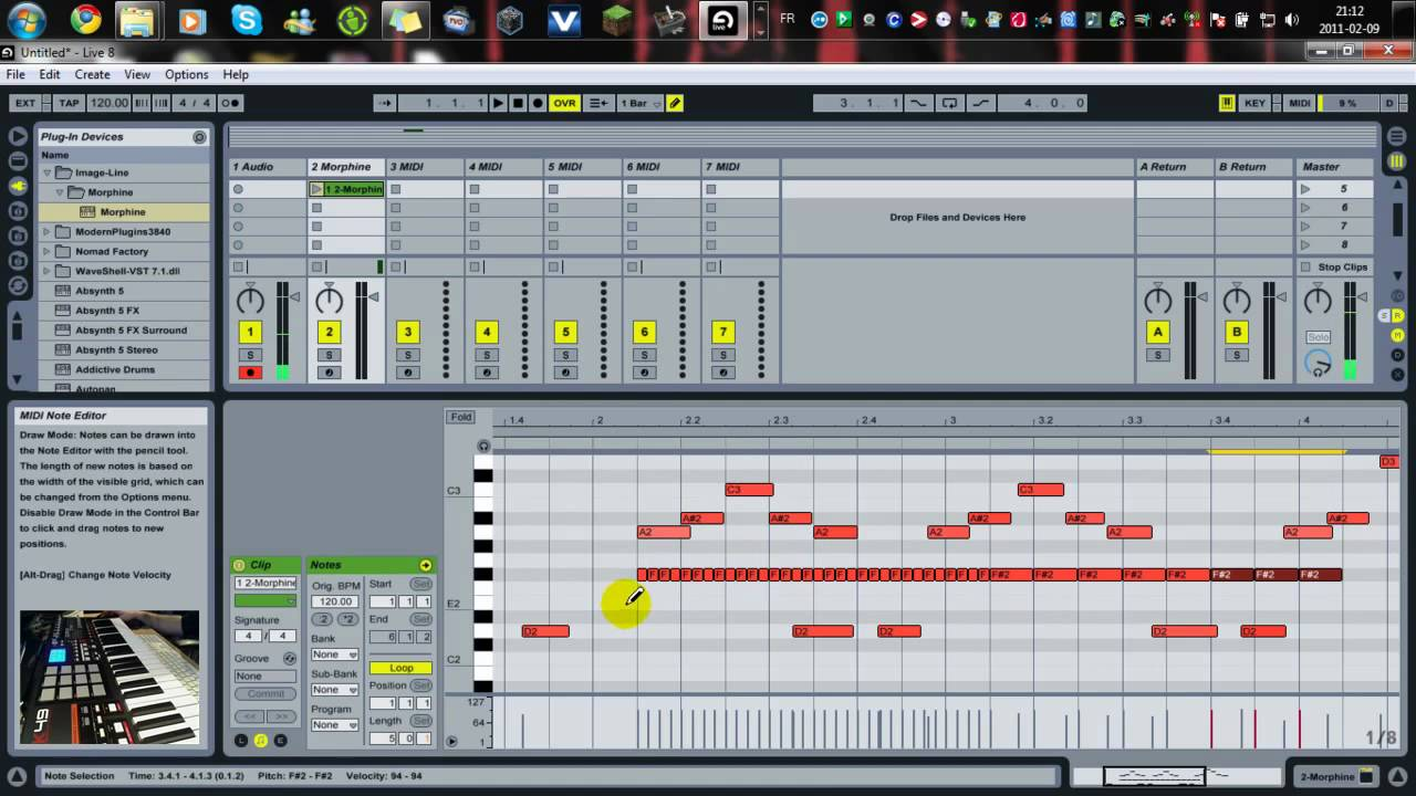 ableton live 9 lite free download. Black Bedroom Furniture Sets. Home Design Ideas