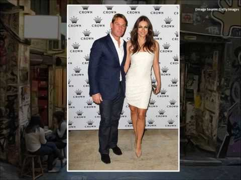 Shane Warne and Liz Hurley over?