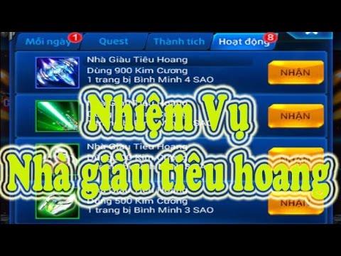 Chiến cơ huyền thoại Việt Nam - Hướng dẫn làm Nhiệm Vụ NHÀ GIÀU TIÊU HOANG nhận 2 bộ Bình Minh A,B