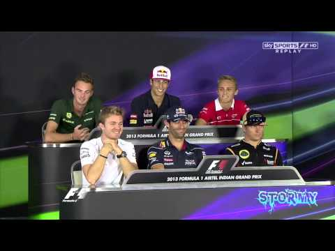 F1 2013 Indian Grand Prix FUNNY Nico Rosberg,