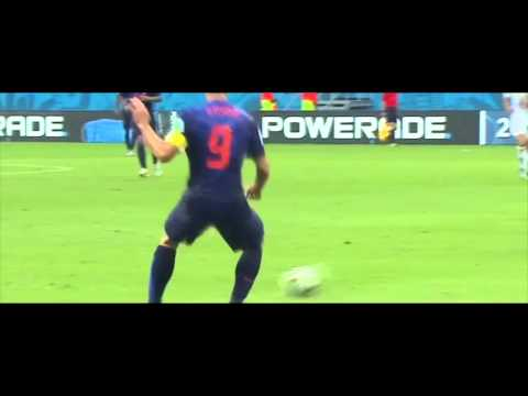 Robin Van persie vs Spain | Brazil World Cup 2014 | HD | Individual Highlight | Amazing Header