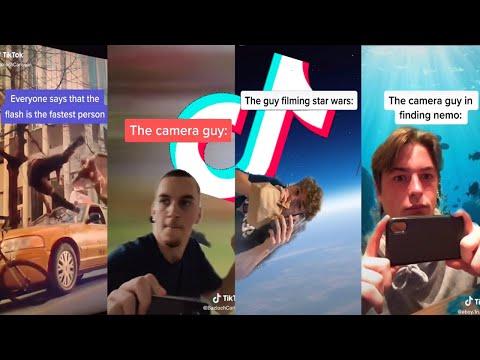 Tik Tok Running Camera Man Meme