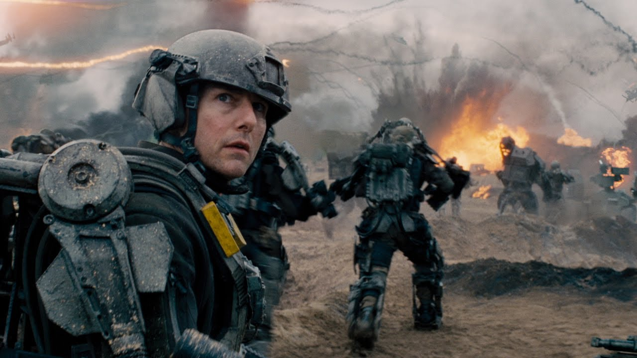 A photo of Edge of Tomorrow - Official Trailer 1 [HD]