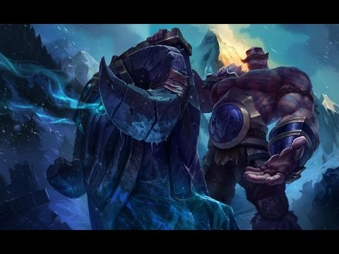 League of Legends (Braum, The poro savior/The Walking Windwall) LoL