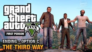 GTA 5 Final Mission / Ending C The Third Way