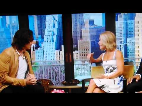 Rick Springfield on LIVE with Kelly and Michael 5/6/14