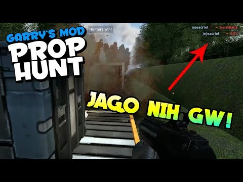 JEJE JADI PRO? - Garry's Mod Prop Hunt Indonesia