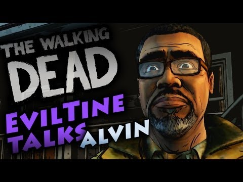 Walking Dead Season 2 Episode 1 - Bad Choices W/ Alvin *Evil*